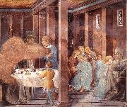 Scenes from the Life of St Francis (Scene 8, south wall) dh, GOZZOLI, Benozzo
