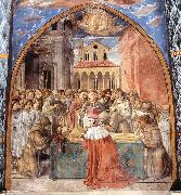 Scenes from the Life of St Francis (Scene 12, south wall) dfhg, GOZZOLI, Benozzo