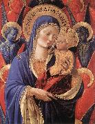 Madonna and Child gh, GOZZOLI, Benozzo
