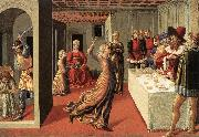 The Dance of Salome  dfg, GOZZOLI, Benozzo