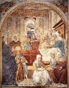 Birth of Mary sdg, GOZZOLI, Benozzo