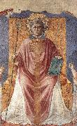 St Fortunatus Enthroned sdg, GOZZOLI, Benozzo