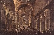 Doge Alvise IV Mocenigo Appears to the People in St Mark s Basilica in 1763