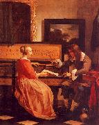 Gabriel Metsu The Music Lesson oil painting artist