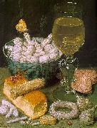 Still Life with Bread and Confectionery 7, Georg Flegel