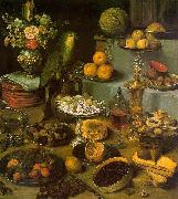 Large Food Display, Georg Flegel