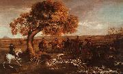 George Stubbs The Grosvenor Hunt oil painting