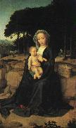 Gerard David The Rest on the Flight to Egypt_1 oil painting