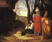 The Three Philosophers dh, Giorgione