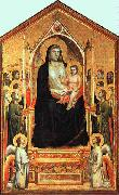 Giotto The Madonna in Glory oil painting