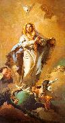 Giovanni Battista Tiepolo St.Thecla Liberating the City of Este from the Plague oil painting