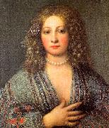 Portrait of a Courtesan, Girolamo Forabosco