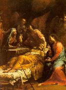 Giuseppe Maria Crespi The Death of St.Joseph USA oil painting reproduction