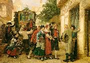 Gustave Brion Wedding Procession USA oil painting reproduction