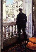 Young Man at his Window