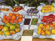 Fruit Displayed on a Stand, Gustave Caillebotte