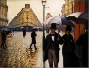 Paris Street, Rainy Weather, Gustave Caillebotte