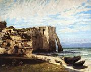Gustave Courbet The Cliff at Etretat after the Storm oil painting