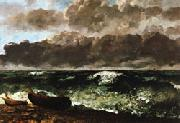 Gustave Courbet The Stormy Sea(or The Wave oil painting