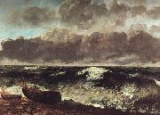 Gustave Courbet The Wave oil painting