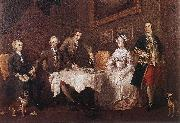 The Strode Family w, HOGARTH, William