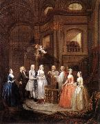 The Marriage of Stephen Beckingham and Mary Cox f, HOGARTH, William