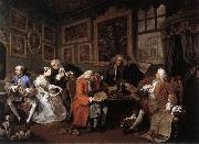 Marriage a la Mode 1, HOGARTH, William