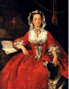 Portrait of Mary Edwards sf, HOGARTH, William