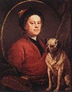 The Painter and his Pug f, HOGARTH, William