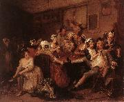 The Orgy f, HOGARTH, William