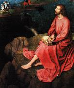 Hans Memling Triptych of St.John the Baptist and St.John the Evangelist  ff oil painting