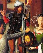 Hans Memling Triptych of St.John the Baptist and St.John the Evangelist gg oil painting