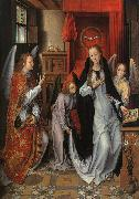 Hans Memling The Annunciation  gggg oil painting