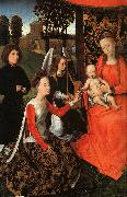 Hans Memling The Marriage of St.Catherine oil painting