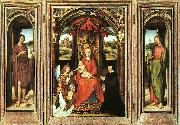 Hans Memling Triptych oil painting reproduction