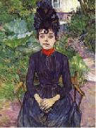 Henri De Toulouse-Lautrec Justine Dieuhl oil painting reproduction