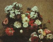Henri Fantin-Latour Still Life with Flowers  2 oil painting