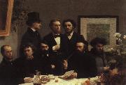Henri Fantin-Latour The Corner of the Table oil painting reproduction
