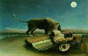 Henri Rousseau The Sleeping Gypsy oil painting
