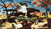 Henri Rousseau War(Cavalcade of Discord) oil painting