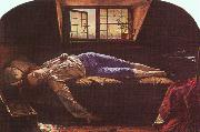 Henry Wallis The Death of Chatterton oil painting