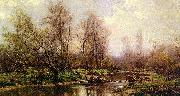 Hugh Bolton Jones River Landscape oil painting reproduction