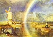Arundel Castle, with Rainbow., J.M.W. Turner