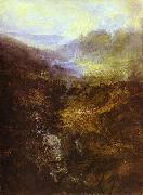Morning Amongst Coniston Fells, Cumberland, J.M.W. Turner