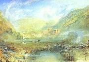Rivaulx Abbey, Yorkshire, J.M.W. Turner