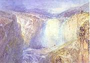 Fall of the Tees, Yorkshire, J.M.W. Turner