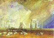 J.M.W. Turner Stonehenge. oil painting reproduction