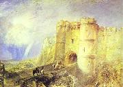 Carisbrook Castle Isle of Wight, J.M.W. Turner