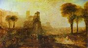 Caligula's Palace and Bridge., J.M.W. Turner