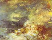 Fire at Sea, J.M.W. Turner
